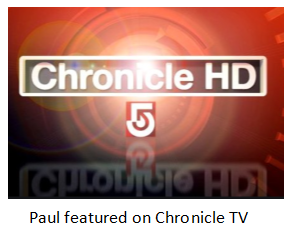 paul gustafson intervied on chronicle tv show