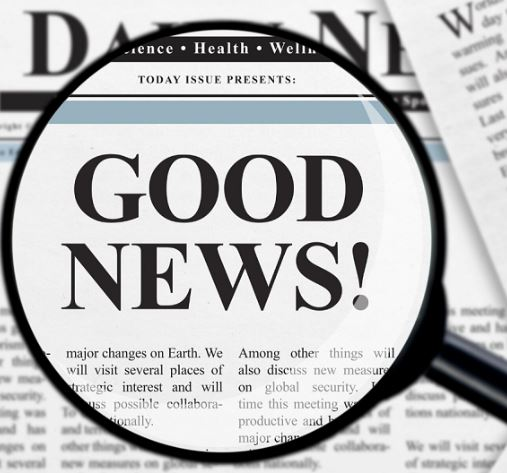 Good news on COVID-19
